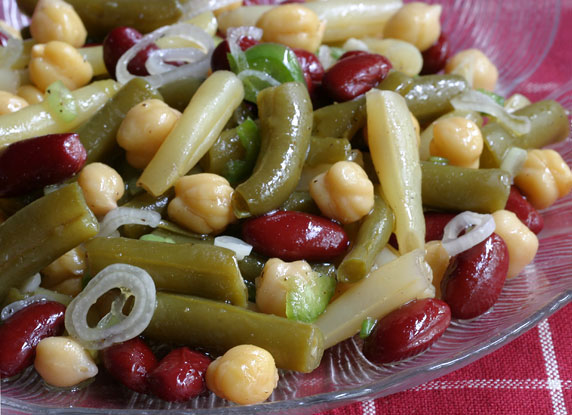 3 plus bean salad