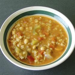 Barley Veggie  Soup