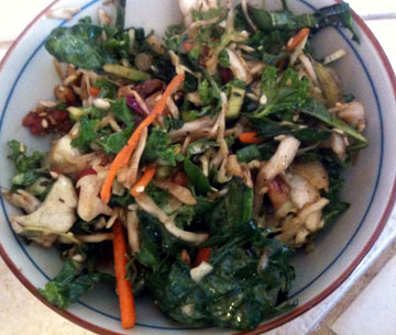 Ranbow Kale Salad