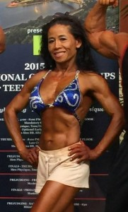 Diane Nguyen, Top 5 Masters Nationals Figure Competitor, 2014/2105 NPC West Coast Championship Masters Figure Champ