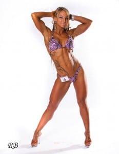 Jennie Laurent arms up