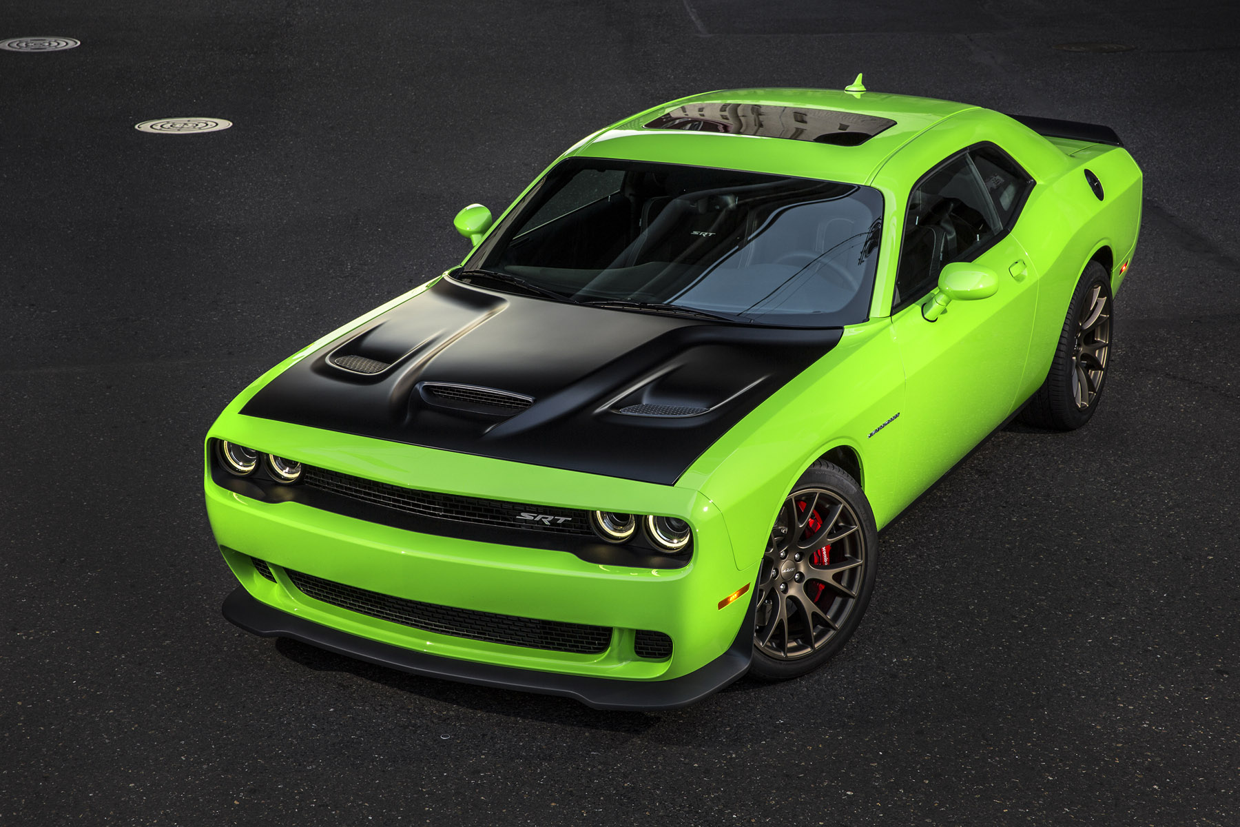 707 Horsepower Dodge Challenger SRT Hellcat Earns EPA