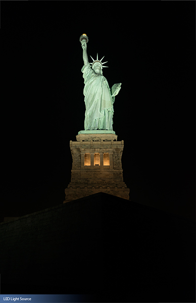 Statue Of Liberty National Memorial Musco Lighting