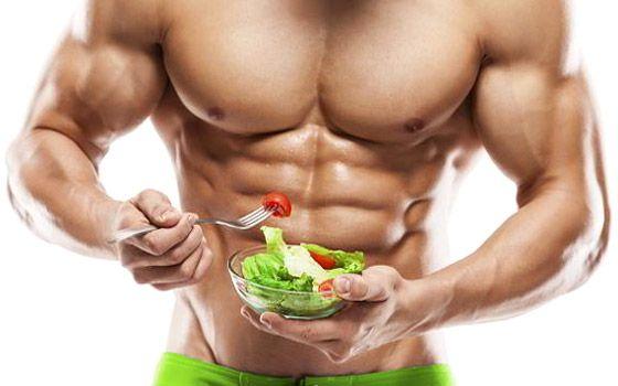 Manger peu musculation