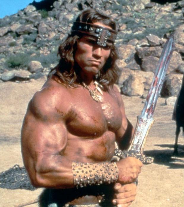 Jetekruul - Barbare Culturiste bien huilée Conan-le-barbare
