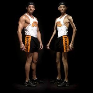 ¿Cual tiene mejor aspecto?, solo se que el musculoso come