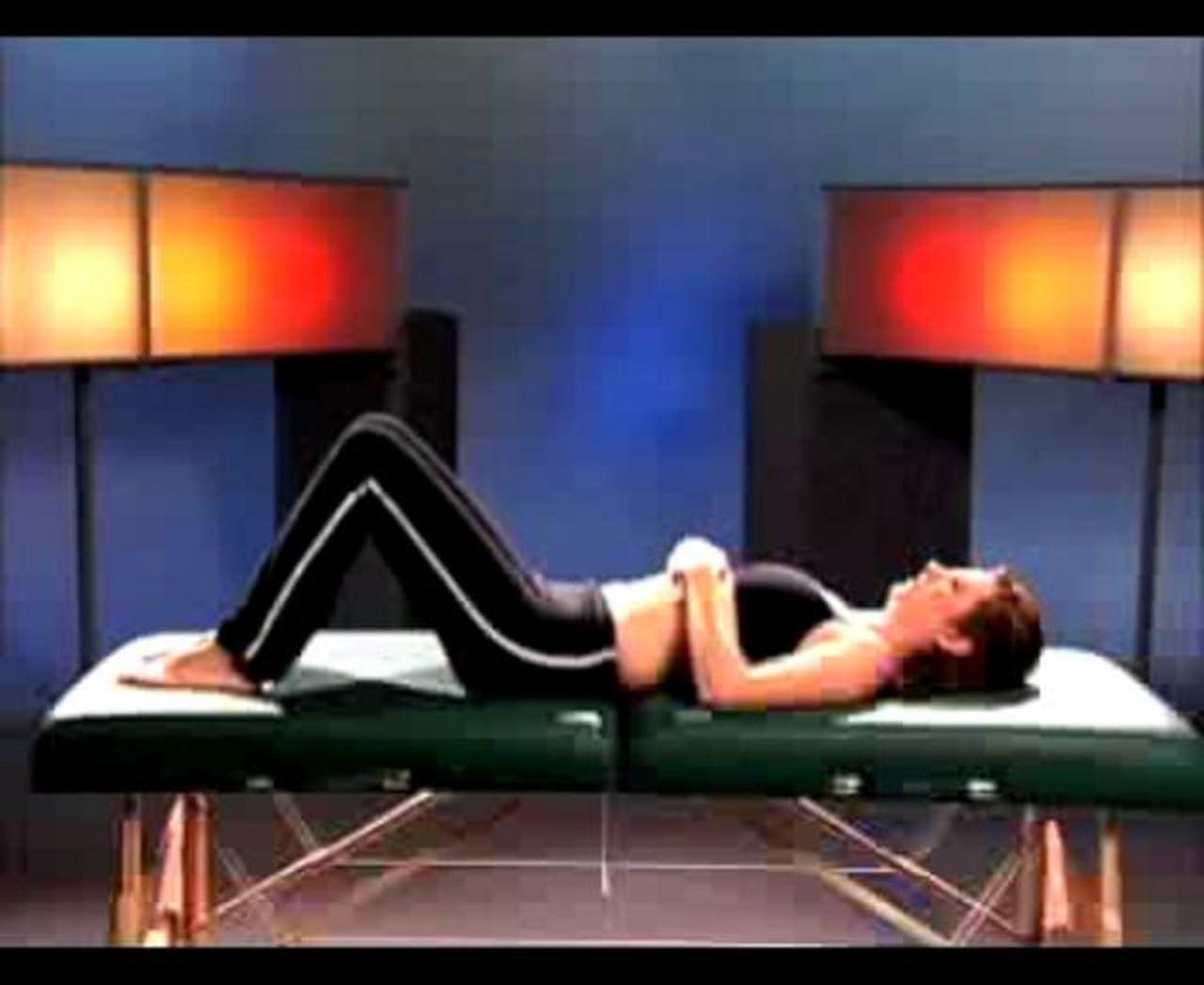 como tratar una contractura espalda