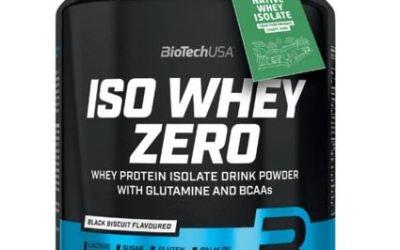 Análisis y opiniones de Iso Whey Zero de BioTech USA