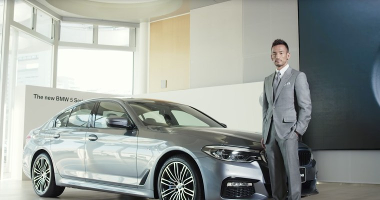 BMW「The all-new BMW 5 Series x 中田英寿」篇