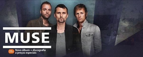 Muse em destaque na loja iTunes