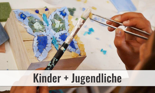 fortlaufender Mosaikkurs in Düsseldorf für Kinder und Jugendliche
