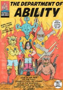 The Department of Ability Comic front page