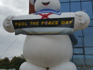Feel the force day welcome