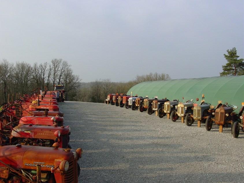 Nouvelle serre expo tracteurs