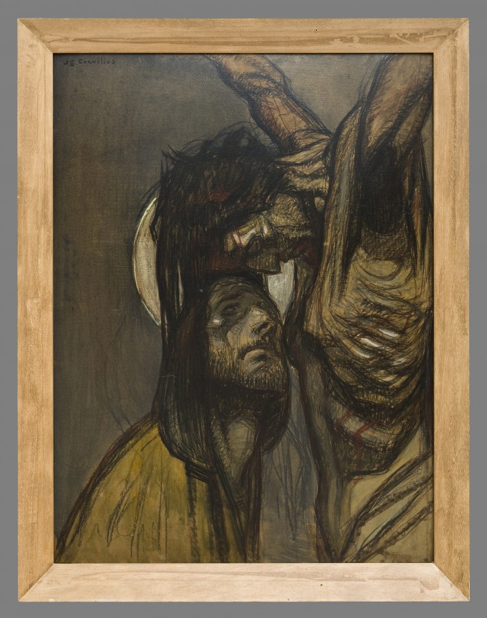 Christ et Jean, Jean-Georges Cornélius
