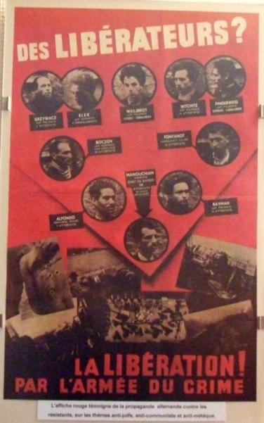 L'affiche Rouge : les étrangers, victimes engagées dans la Résistance