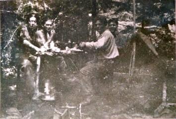 Première installation dans les grands bois de Pionsat ( proche d'Etubeix)
