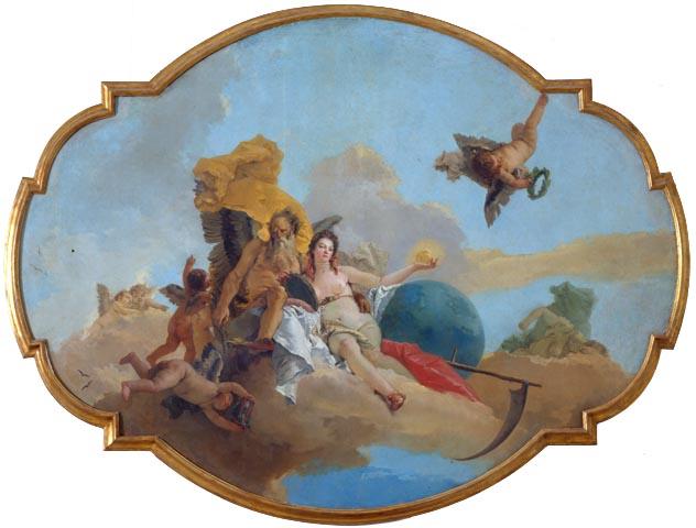 Tiepolo, La Verità svelata dal Tempo, uncensored version