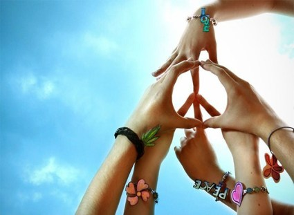 peace hands