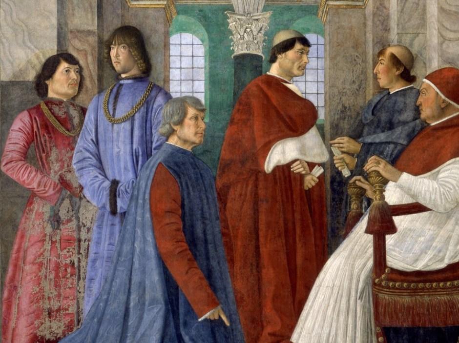 Pintor renascentista italiano Melozzo da Forlì