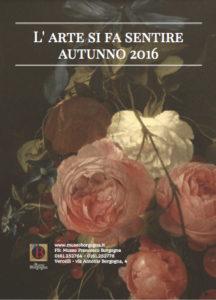 museo borgogna l'arte si fa sentire 2016