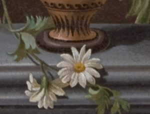 Museo Borgogna, Vercelli, Conferenza Berta, Manifattura romana, Vaso di fiori, micromosaico, particolare