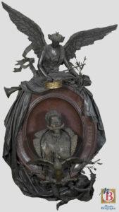 Valentino Panciera Besarel Apoteosi di Vittorio Emanuele II Museo Borgogna Vercelli