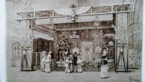 Museo Borgogna, Vercelli, Sala Araba, Parvis, Antonio Borgogna