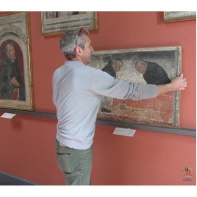 Restauro, affreschi strappati da San Marco, Museo Borgogna, Vercelli