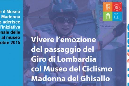 4 OTTOBRE_Giro di Lombardia_Giornata nazionale delle famiglie al museo