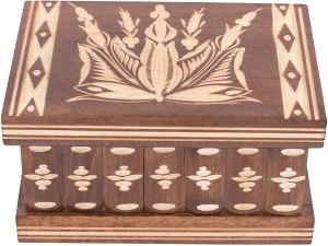 01-Caja para tarot llave oculta Marrón