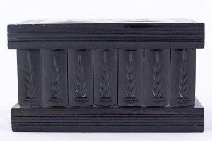 02-Caja para tarot llave oculta Negro