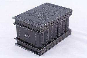 04-Caja para tarot llave oculta Negro