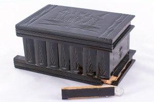 07-Caja para tarot llave oculta Negro