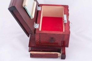 09-Caja para tarot llave oculta Rojo