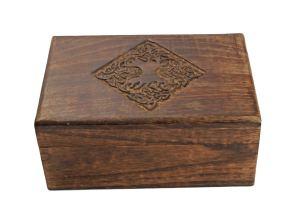 03-Caja para tarot con motivo celta