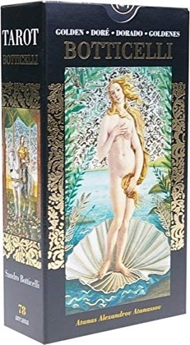 Golden Botticelli Tarot  El Loco