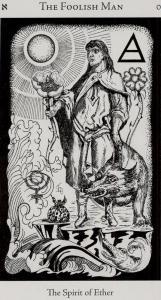 Hermetic Tarot  El Loco