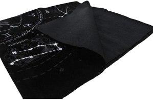 05-Mantel para tarot Constelaciones - Negro