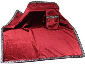 02-Mantel y bolsita para tarot - Rojo