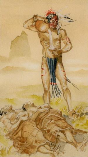 Native American Tarot  La Templanza