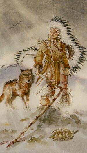 Native American Tarot  El Mago