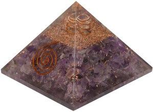 03-Pirámide Energía Amatista Turmalina