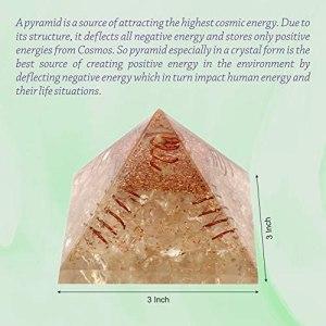 02-Pirámide Energía Cristal de cuarzo