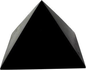 01-Pirámide Shungita pulida 15cm
