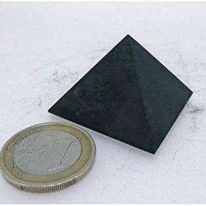 01-Pirámide Energía Shungita sin pulir 3cm