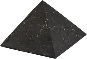 01-Pirámide Shungita sin pulir 8cm