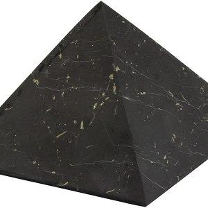 01-Pirámide Energía Shungita sin pulir 8cm