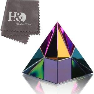 01-Pirámide Energía Vidrio 5cm