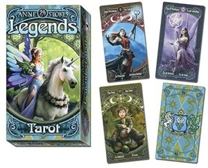 03-Tarot Legends Anne Stokes